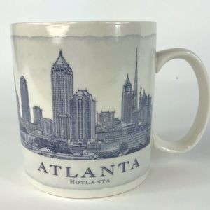 Rare 2006 STARBUCKS (Error) ATLANTA City Mug Cup